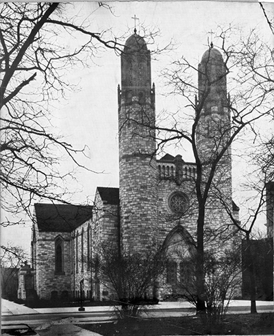 Epiphany Parish when it was first built.